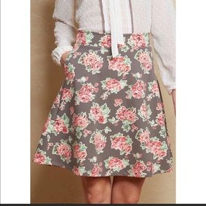 Matilda Jane floral skirt Large NWT